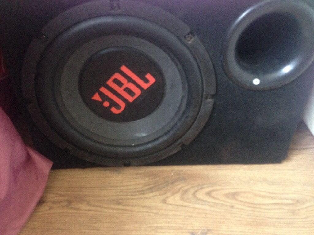 JBL sub,JBL 6x9, pioneer double din cd playerin Winterton, LincolnshireGumtree - JBL sub, JBL 6x9, pioneer double din CD player job lot £100