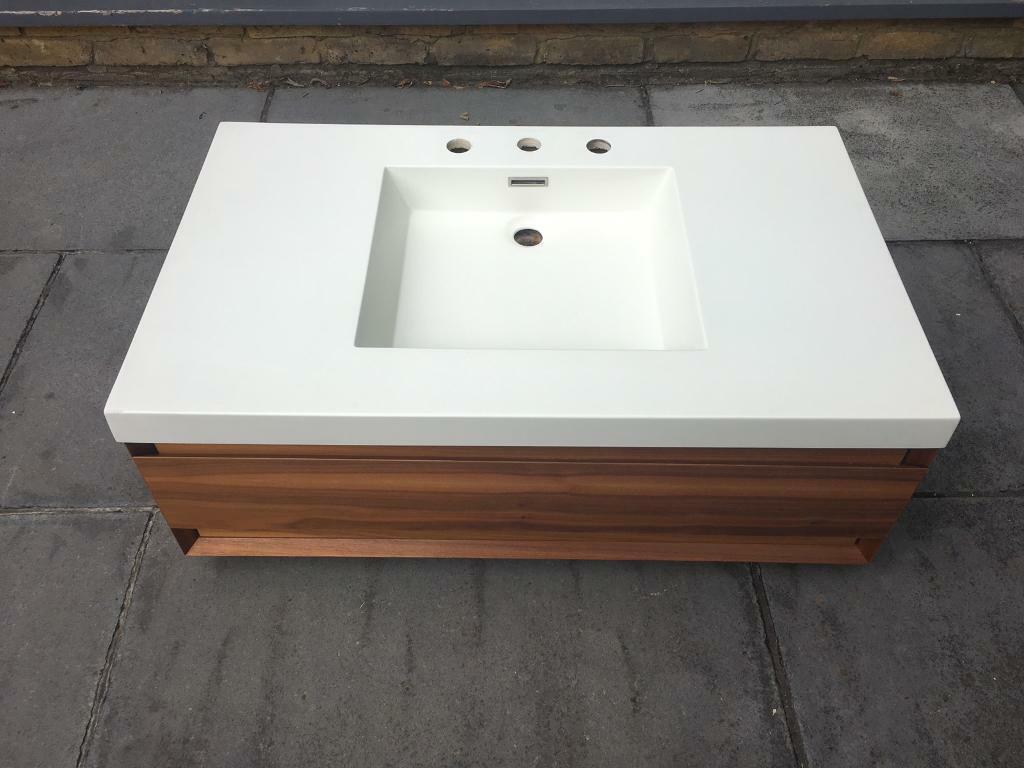 Wetstyle Wall Mount 10 Vanity Unit And Sink In Wimbledon London Gumtree