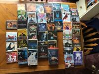 DVD's and VHS videos (job lot)