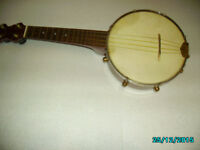 ukulele banjo hand made