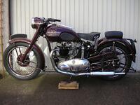 CLASSIC 1950 TRIUMPH SPEEDTWIN