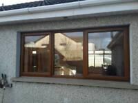 Double glazed pvc window.