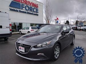 2015 Mazda3 GX Front Wheel Drive - 40,692 KMs, 2.0L Gasoline