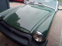 MG, MIDGET 1500, 1980, 1491 (cc) RESTORED