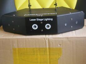 FOR SALE DJ LASER LIGHTING SYSTEM