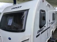 2013 Bailey Orion 430 (Fixed Bed, End Washroom)