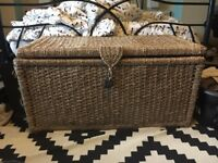 ARGOS Wicker Storage Chest