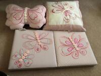 Girls room accessories