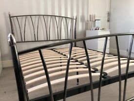 King size bed frame for sale