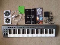M-Audio ProKeys Sono 61 Keyboard - Includes Chord Book