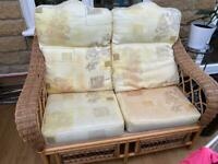 Conservatory double seater chair