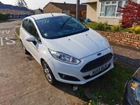 2013 Ford Fiesta 1.25 Zetec 5 Door in Frozen White 49K