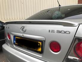 Is300 rear wing