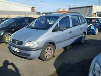 2002 zafira 1.6 7 seater priced to clear