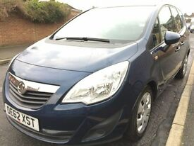 2013 VAUXHALL MERIVA 1.4 AUTOMATIC 1 OWNER VERY LOW MILEAGE FULL SERVICE HISTORY HPI CLEAR