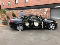JAGUAR XF S PREMIUM LUXURY - UBER PHC TAXI RENTAL CAR AVAILABLE NOW ! BUSY FESTIVAL TIME