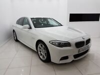 BMW 5 SERIES 2.0 520d M SPORT 4 DOOR - 12 MONTH MOT - 12 MONTH WARRANTY - £0 DEPOSIT FINANCE