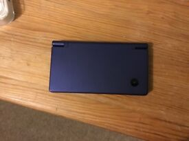 Dsi dark blue with 3 games good condition