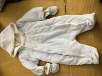 Baby boy snow suit 0-3 konths
