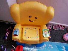 Interactive chair kids toy