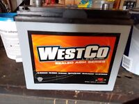 Westco battery for MX5. Brand new