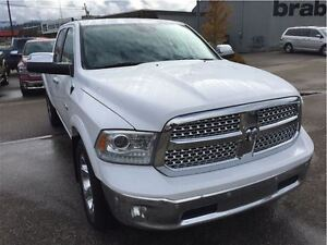 2014 Ram 1500 Laramie, Ecodiesel. 8.4 Screen, Bluetooth