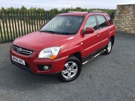 2009 59 KIA SPORTAGE 4X4 *FULL MOT* COMPREHENSIVE HISTORY, 2 FORMER KEEPERS FROM NEW