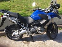 BMW R1200 GS ,2008, good condition,£5400