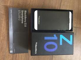 Blackberry z10 white unlocked