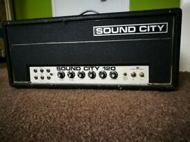 Sound City 120 vintage amp
