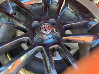 """Mint as new 1.7"""" corsa limited edition 4 stud alloys"""