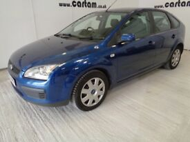 2007 Ford Focus 1.8 LX Blue 94k miles FSH 9 Stamps MOT'd 2018 Air Con CD HPi Clear £1595