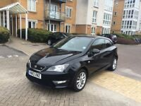 2013 SEAT IBIZA FR 1.6 TDI DIESEL BLACK CAT D EXCELLENT CONDITION 22,000 MILES ONLY