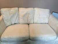 Two seater sofa .. washable cover.. Ava liable on 28 of may thanks..