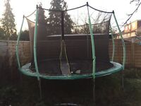 12 ft TP Zoomee trampoline
