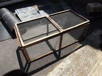 wooden guinea pigs / rabbit folding run £15 ono
