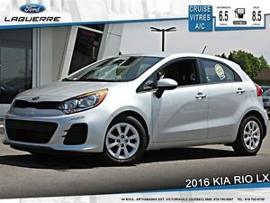 2016 Kia Rio **LX PLUS*ECO*AUTOMATIQUE*CRUISE*A/C*