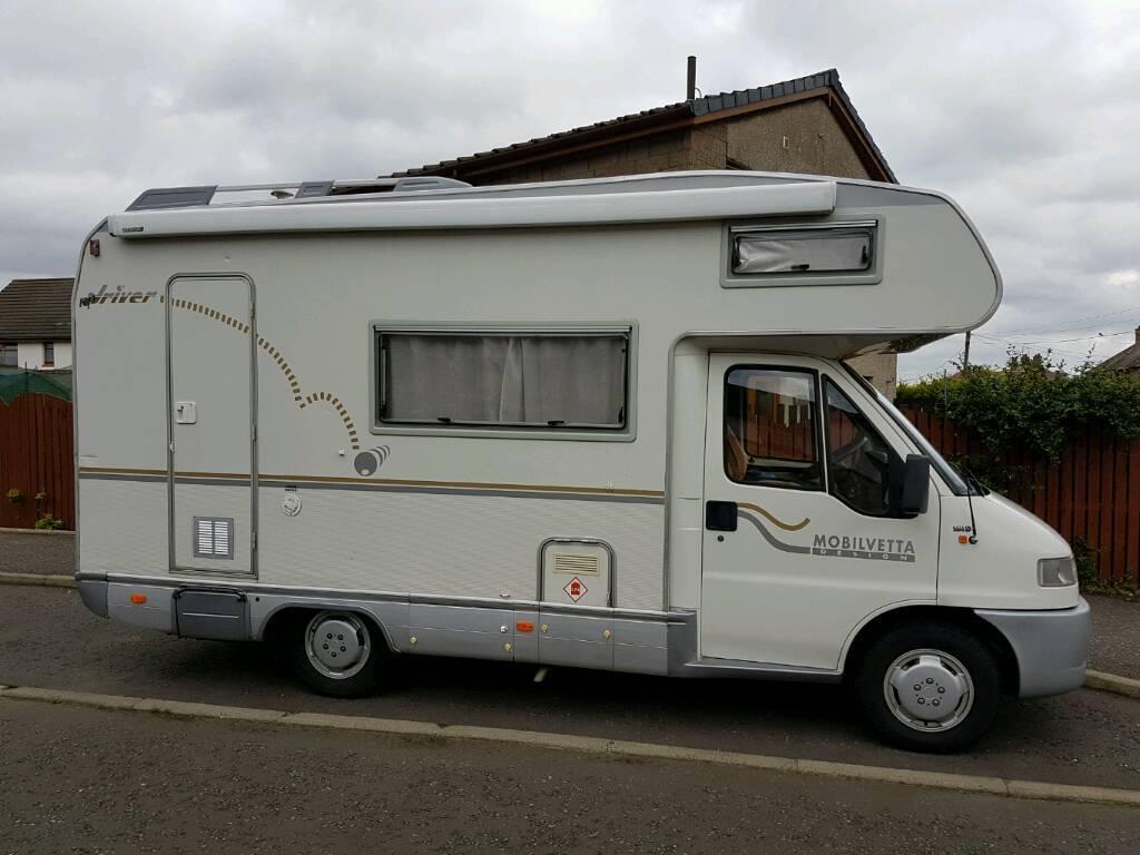 Fiat ducato motorhome camper van caravan