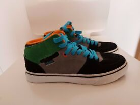 Boys leather trainers sneakers boots size 3