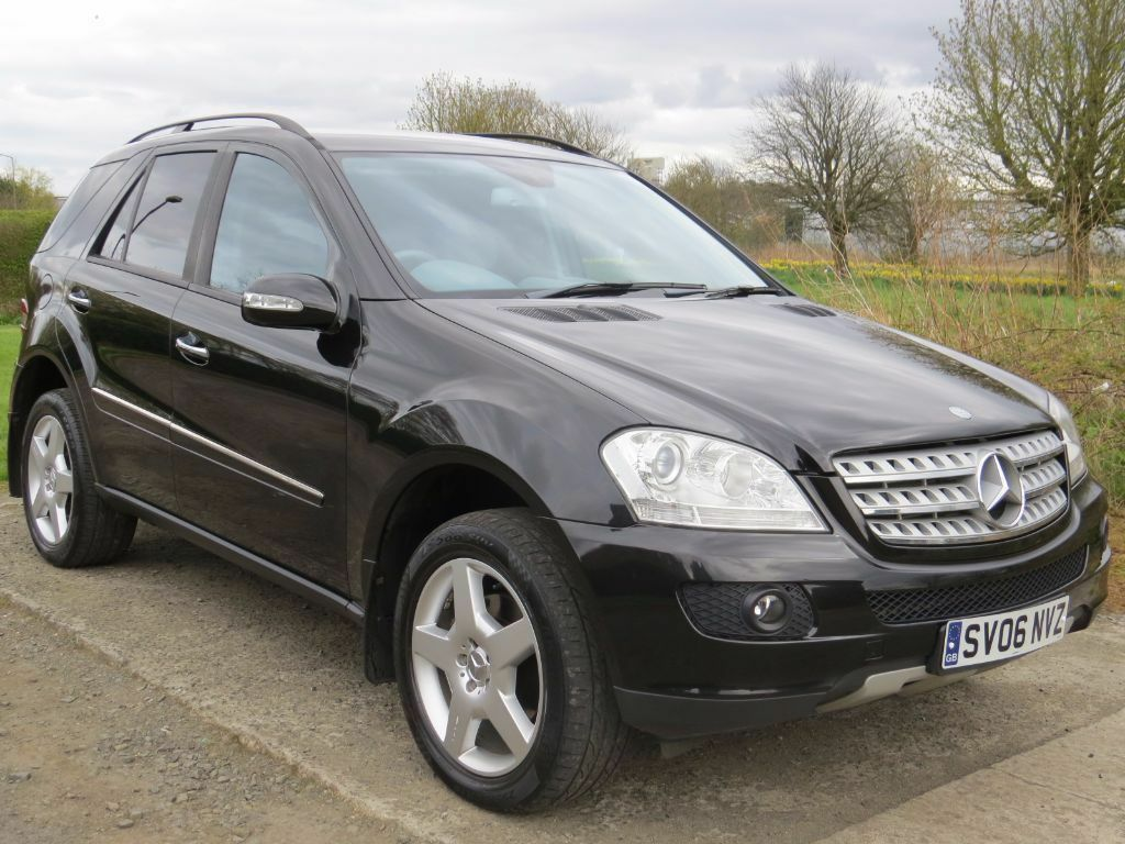 74k miles 2006 mercedes benz ml 280 cdi sport full service history mot 17th feb 2017. Black Bedroom Furniture Sets. Home Design Ideas