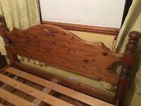 King size bed for sell in Dagenham