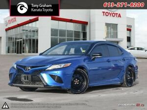 2018 Toyota Camry XSE XSE 4CYL+Leather+Navigation