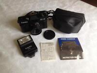 A vintage Franka NX-40 35mm film camera