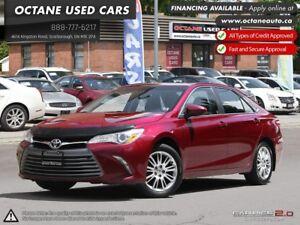 2015 Toyota Camry LE ACCIDENT FREE! MINT CONDITION!