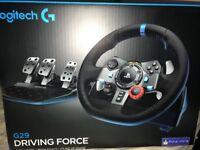 Logitech G29 Wheel SEALED unwanted gift