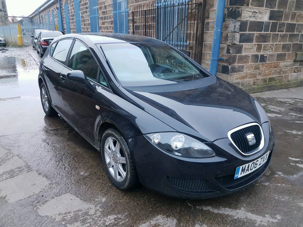 2006 seat leon 1 9 tdi stylance 5 door black part ex bargain to clear in dewsbury west. Black Bedroom Furniture Sets. Home Design Ideas