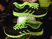 Adidas Shoes Color Black / Green