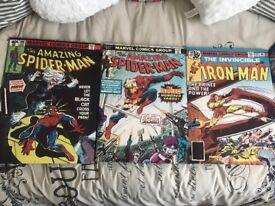 Marvel Avengers comic style canvas print