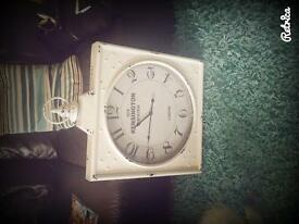 Large Kensington Outdoor Clock.