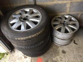 4x100 alloys,16 inch, Renault, Vauxhaul, Volkswagen